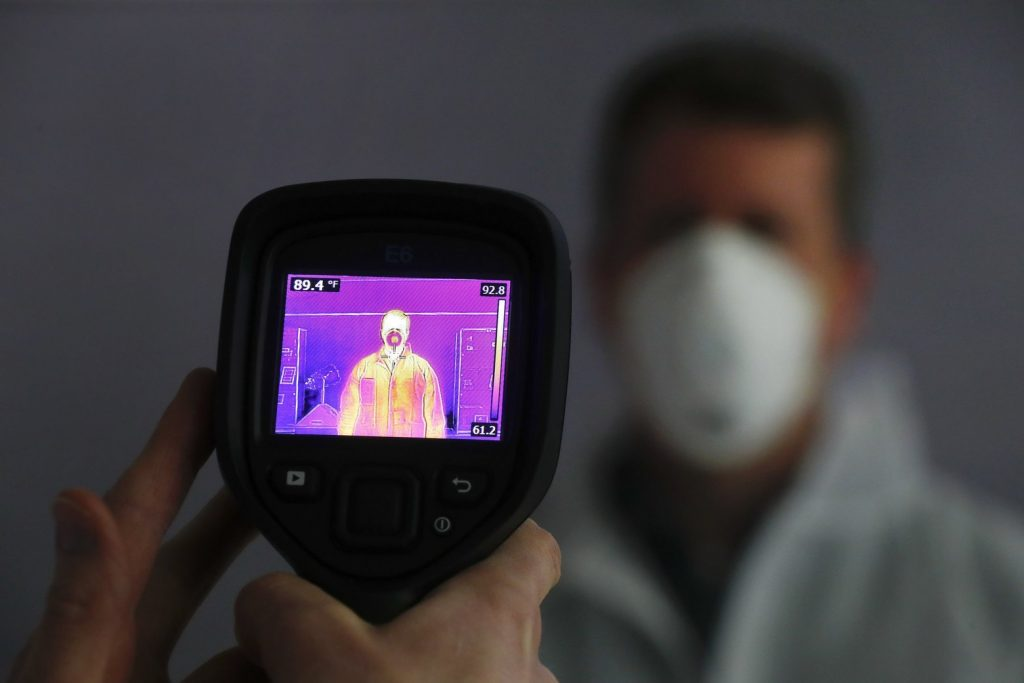 thermal camera body temperature