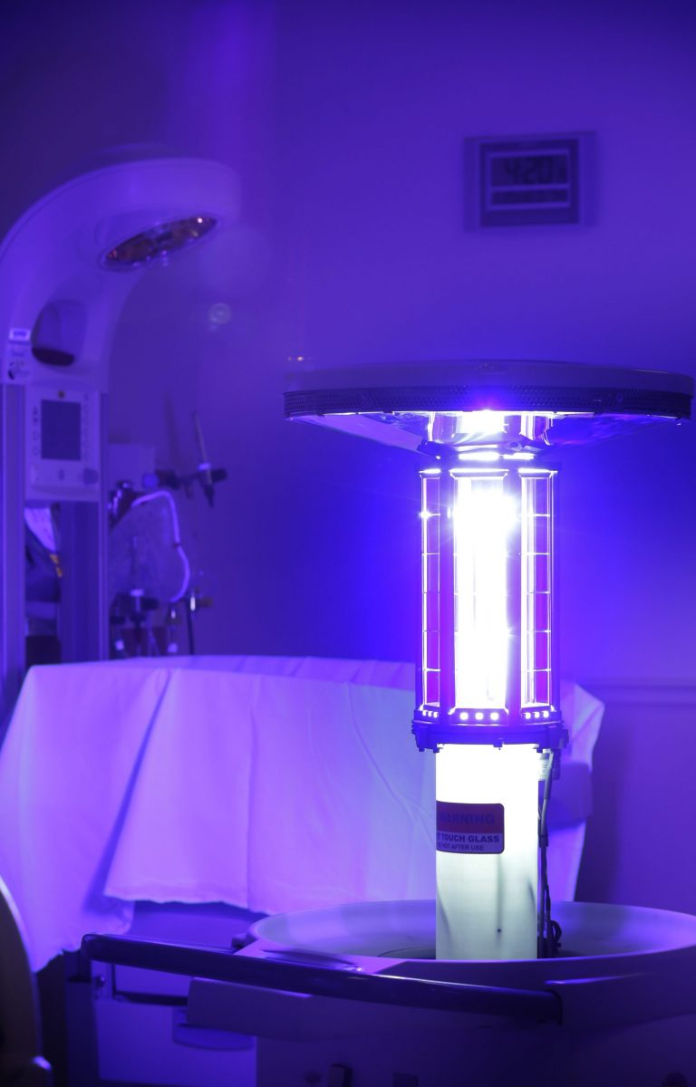 UV Light for Disinfecting Viruses and Bacteria